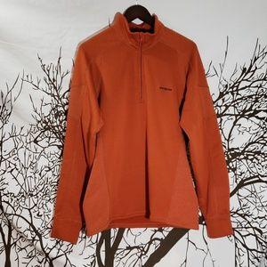 Patagonia Orange Sweatshirt